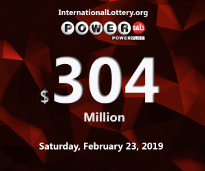 Powerball jackpot hits $304 million; Who will be the next jackpot owner?