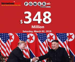 Trump-Kim summit ends early, Powerball Jackpot still soars to $348 million