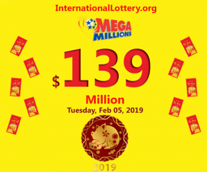 Mega Millions jackpot up to $139 million for the first day of Lunar new year 2019