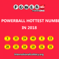 Top 12 Powerball lottery hottest numbers in 2018