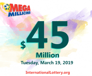 Mega Millions results for 19/03/15: Jackpot stands at $45 million