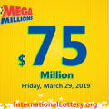 Mega Millions jackpot continues to roll to $75 million