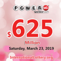 Powerball jackpot rises to $625 million: Six millionaires appeared