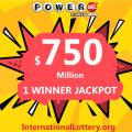 Powerball jackpot worth $750 million belonged to a lucky Wisconsin man