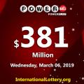 Who will win the next $381 million Powerball jackpot?