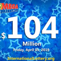 Mega Millions jackpot rises to $104 million for the next Friday