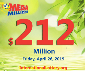 No Mega Millions winner; Friday jackpot stands at $212 million