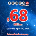 Powerball jackpot is at $68 million: Test your luck!