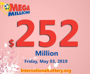 One New Jersey man won $1 million; Mega Millions jackpot hits $252 million