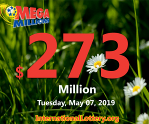 Mega Millions is getting hotter; Jackpot now is $273 million
