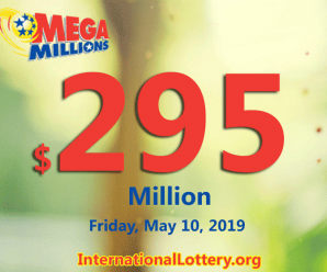 The jackpot for the next Friday's Mega Millions drawing swells to $295 million