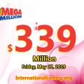 Mega Millions rolls over to $339 million for May 17, 2019
