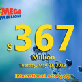 Three second prize winners; Jackpot Mega Millions grows to $367 million
