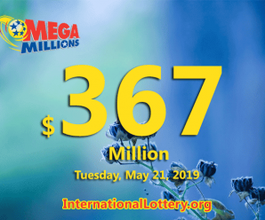 Three second prize winners; Jackpot Mega Millions grows to $367 million