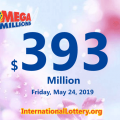 A lot of winners appeared; Mega Millions jackpot stands at $393 million