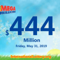 Five new millionaires; Mega Millions jackpot jumps to $444 million