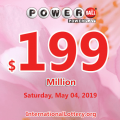 One million USD belonged to an Indiana man; Powerball jackpot is $199 million now