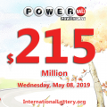 Two millionaires on 04.May with Powerball come from Florida and New Jersey