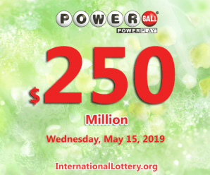 Powerball lottery draw results of 05/11/2019: Four lucky players became millionaire