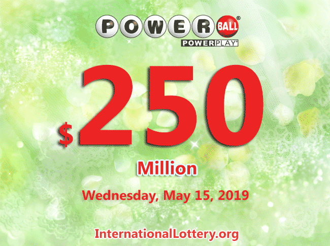 Powerball lottery draw results of 05/11/2019: Four lucky