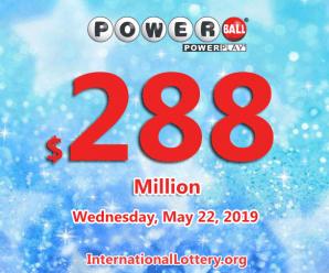Jackpot Powerball is $288 million; Mega Millions is about to reach $367 million