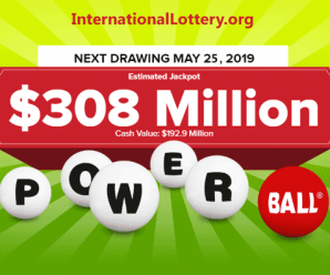 Powerball jackpot is waiting for the owner; now it is $308 million