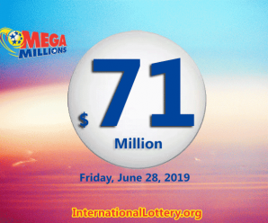 One new millionaire on June 25, 2019 with Mega Millions