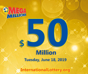 One Connecticut player won $2 million Mega Millions on June 14, 2019
