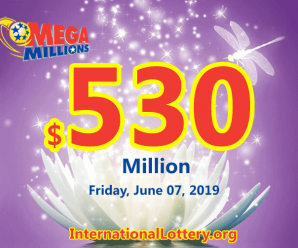 Many big prizes appeared, Mega Millions jackpot swells to $530 million