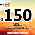 Powerball jackpot is growing, It reaches $150 million