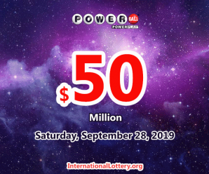 Powerball results of September 25, 2019, Jackpot is $50 million