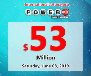 Powerball results for 19/06/05: Jackpot is $53 million