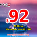 Powerball results for 19/06/15: Jackpot is $92 million