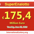 SuperEnalotto Lottery is €175.4 million Euro: It is so hot!