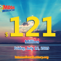One Mega Millions ticket was sold in New Jersey to win$2 million