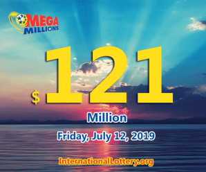 One Mega Millions ticket was sold in New Jersey to win $2 million