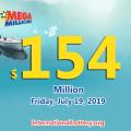 One man won a million prize of Mega Million on July 16, 2019