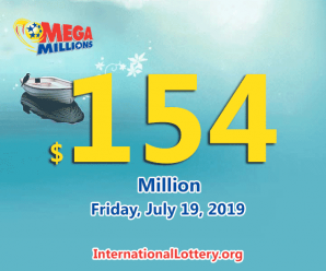 One man won a million prize of Mega Million on July 16, 2019