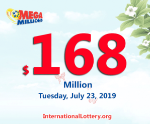 The next Mega Millions jackpot spins up to $168 million