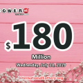 Massachusetts man won $1 million, Powerball jackpot is $180 million now