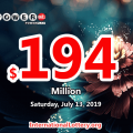 Powerball results for 19/07/10: One man won $1 million