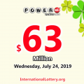 One California player won the second prize of Poweball on July 20, 2019