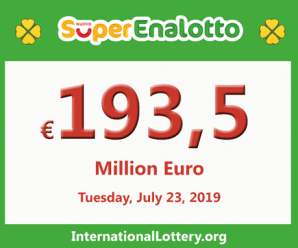 Jackpot SuperEnalotto conquers 193.5 million Euro