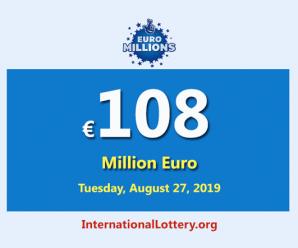 The nextEuroMillionsjackpot will be worth €108 million euro
