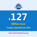 EuroMillions Jackpot is €127 million euro – the biggest jackpot in the world