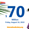 Mega Millions results for August 13, 2019: Jackpot stands at $70 million