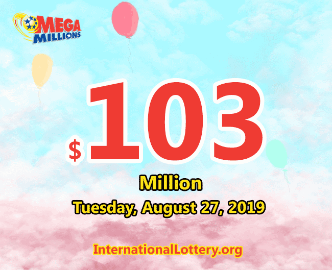 Mega Millions results of August 23, 2019, Jackpot is at $103