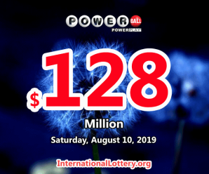 Powerball results of 07 August 2019: Two players won the second prizes