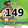 Great! $149 million of Powerball found out the owner