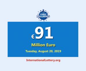 The nextEuroMillionsjackpot will be worth €91 million euro